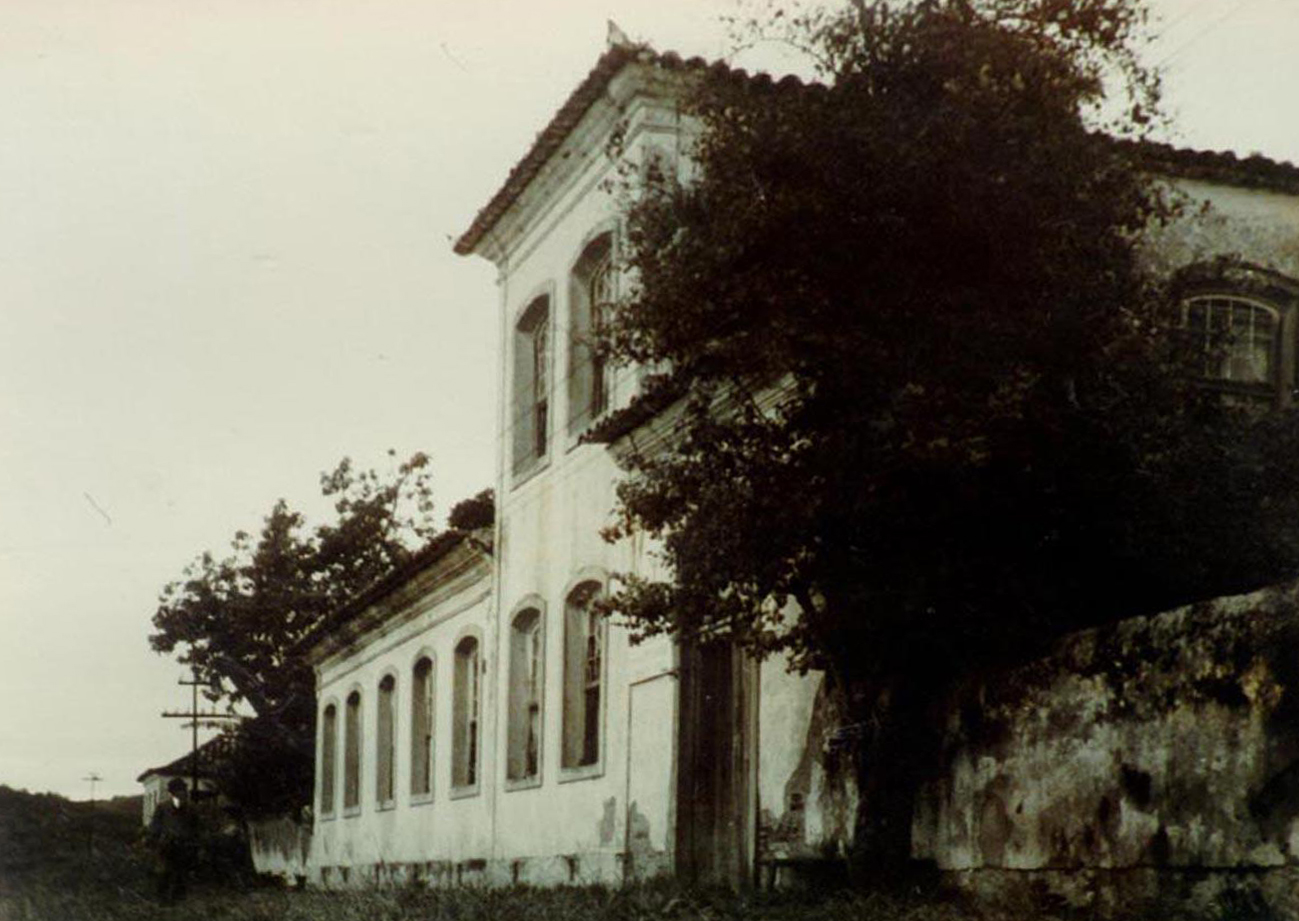 Foto antiga da atual Casa dos Açores