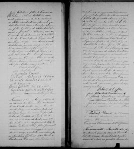 Registro de Casamento Civil de José e Maria