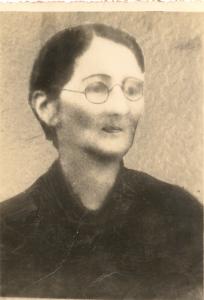 Maria caetana de Araújo. Único retrato encontrado até agora.