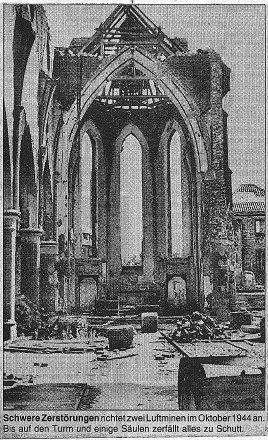 Ruínas do altar