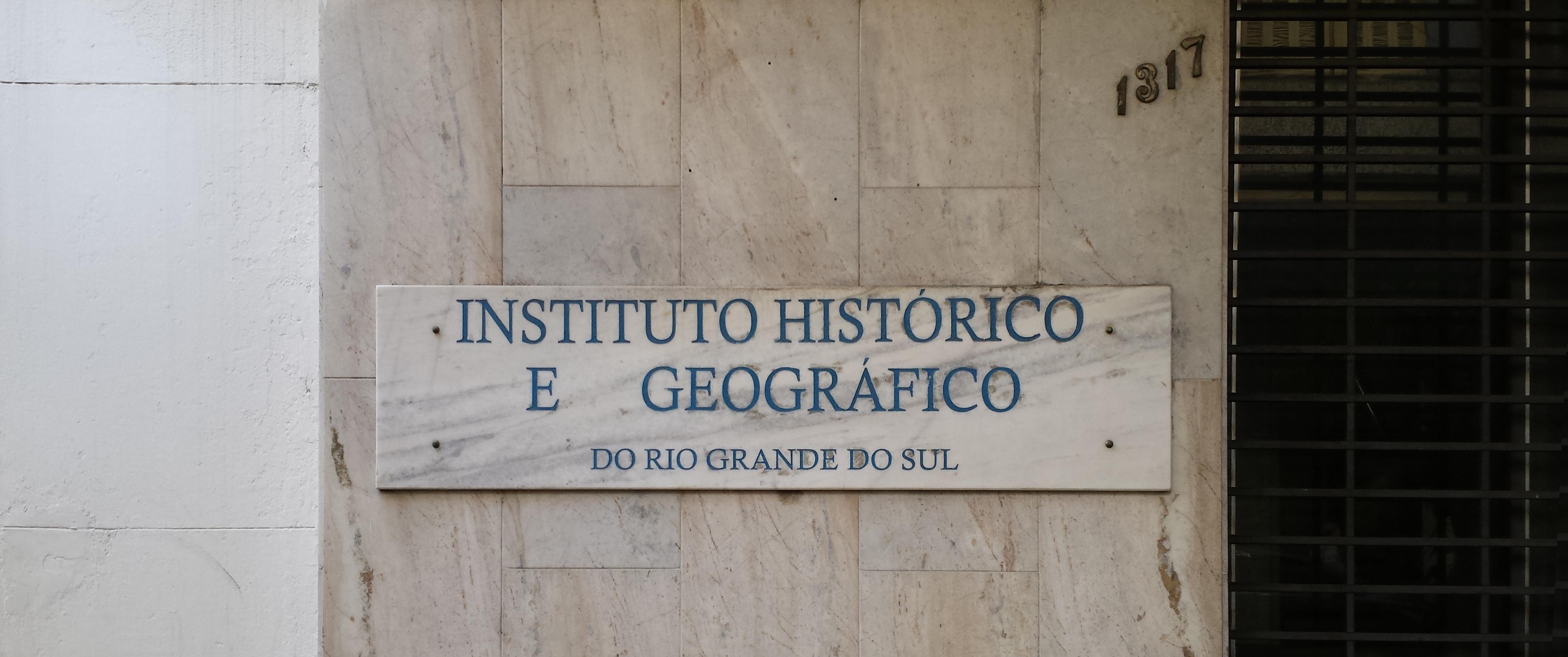 Rua Riachuelo, 1317: O Instituto Histórico e Geográfico do Rio Grande do Sul, em Porto Alegre.
