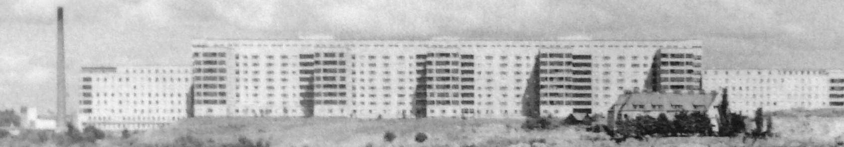 O hospital de Södermalm, Estocolmo (Södersjukhuset), em 1951.