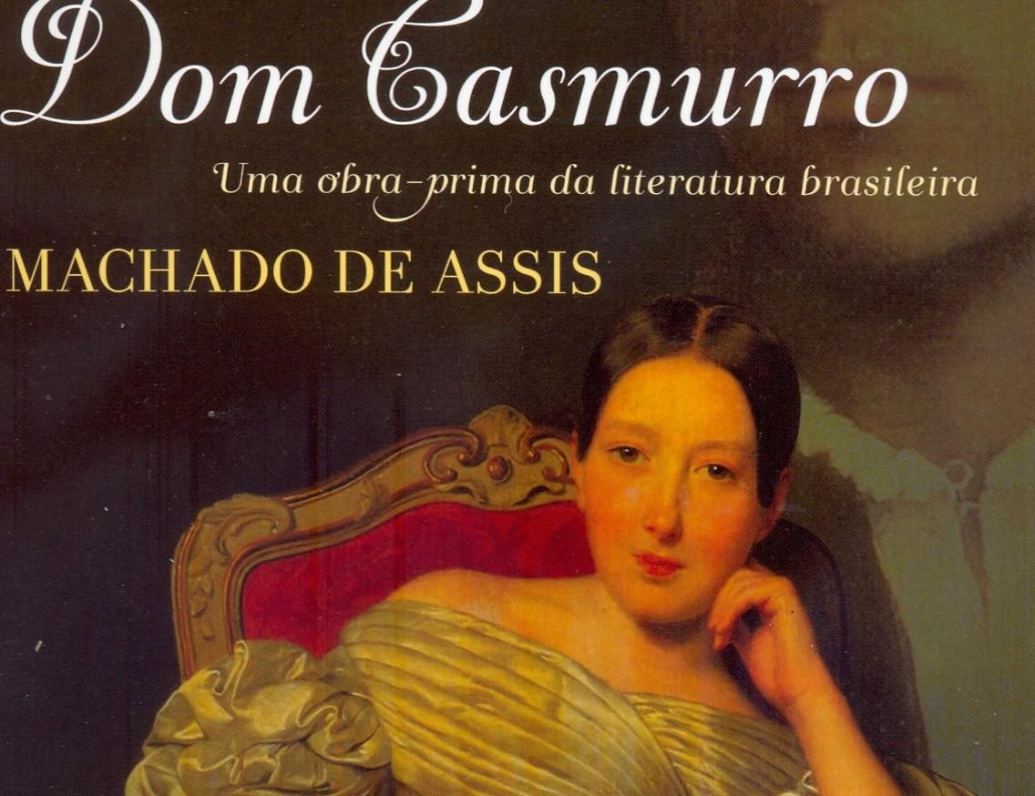 Capa de Dom Casmurro, Editora Dom Quixote. Encontrada em Aquele Cheio de Livro Novo...