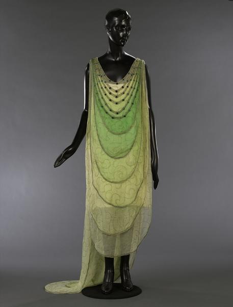 Evening gown, Madeleine Vionnet