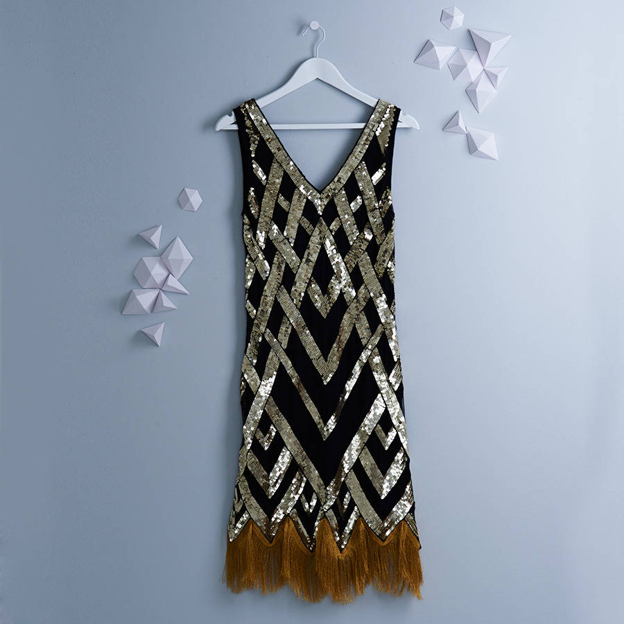 original_ritz-flapper-black-gold-embellished-fringe-dress