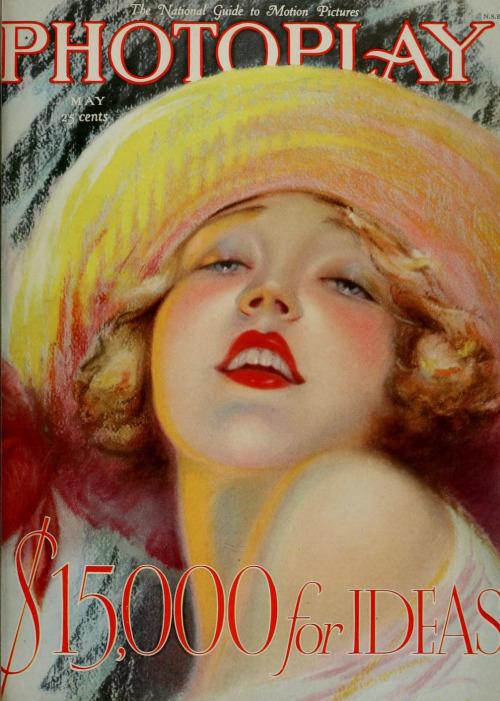 Capa da Photoplay, maio de 1927,