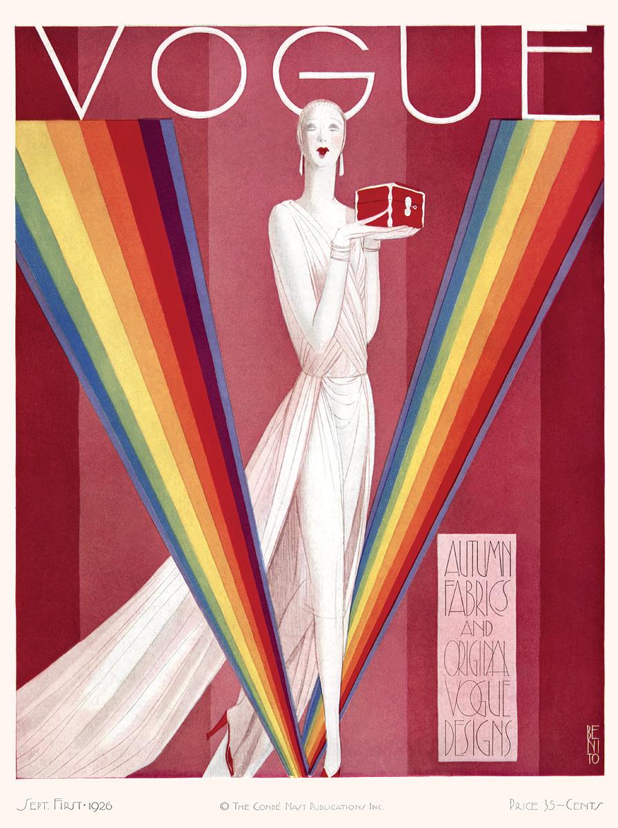 Capa da Vogue de 1º de setembro de 1926,