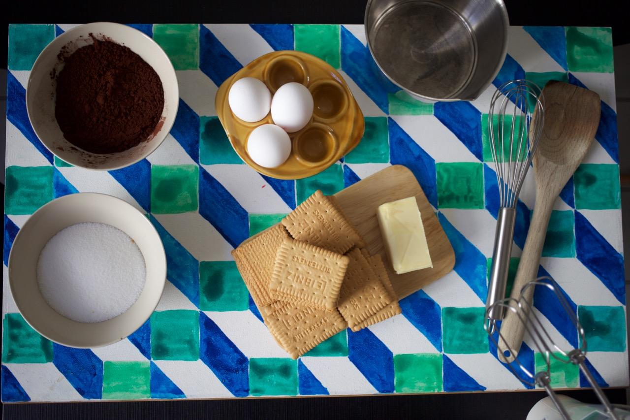 Torta Mousse & Maria de Lúcia Pilla Cauduro